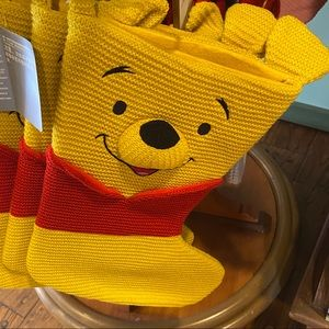 🎄Disney WinniethePooh Christmas Knitted Stocking